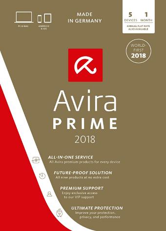 Avira Prime Free for 92 Days[ Windows/ Mac/Android /iOS]
