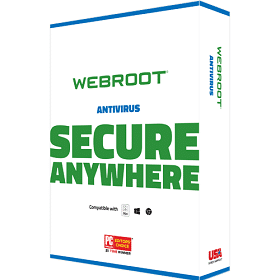 Webroot SecureAnywhere AntiVirus -BoxShot
