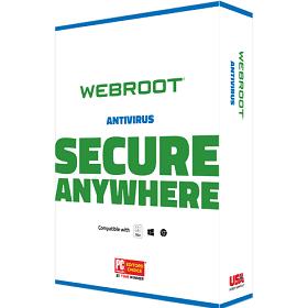Webroot SecureAnywhere AntiVirus -BoxShot