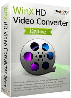 WinX HD Video Converter Deluxe box shot