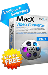 MacX Video Converter Pro  for Free