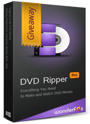 WonderFox DVD Ripper Pro Giveaway