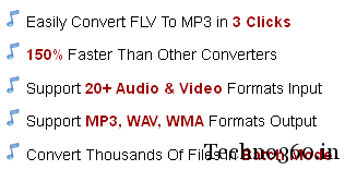 FLV To MP3 Converter free serial