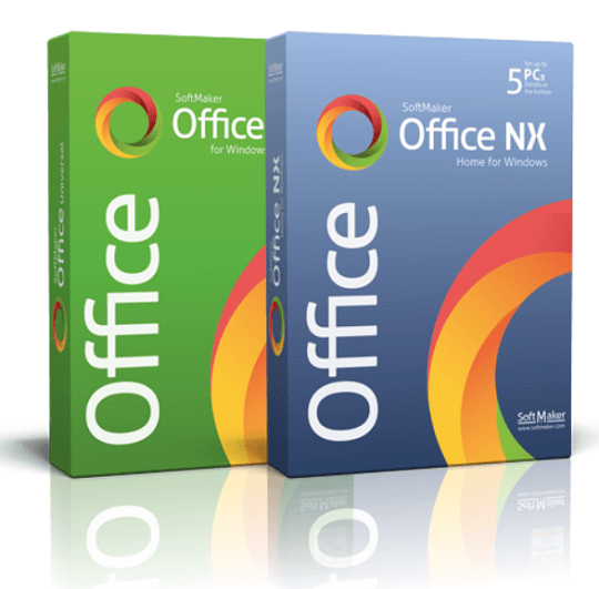 SoftMaker Office NX Home Free 1 Year Subscription [5 PC]