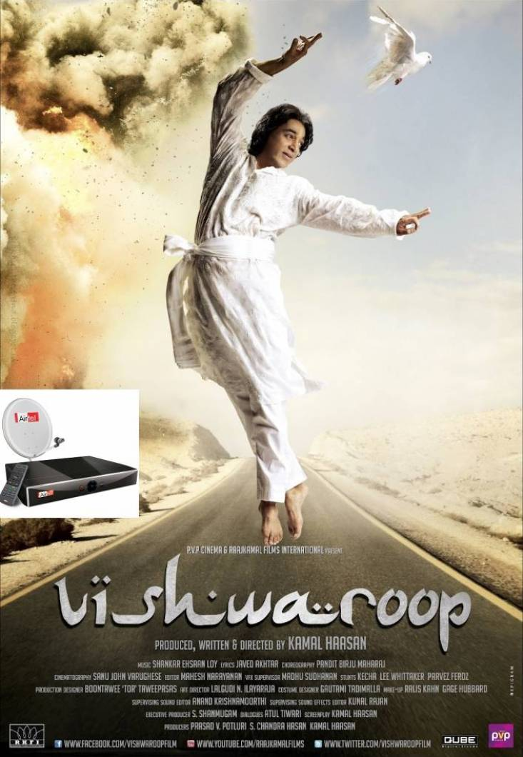 Vishwaroopam on Airtel dth