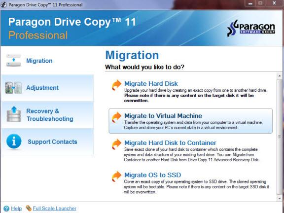 paragon drive copy 11 pro