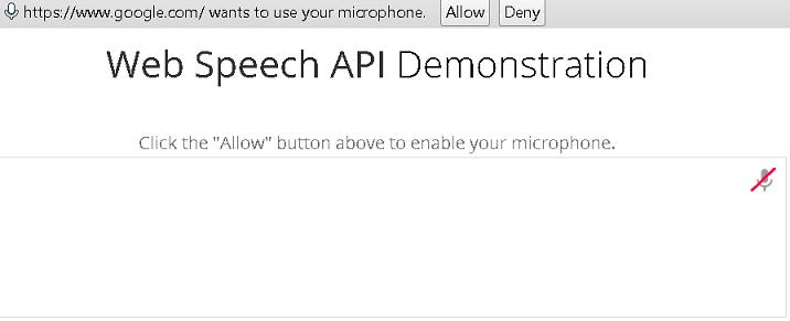 voice control google chrome