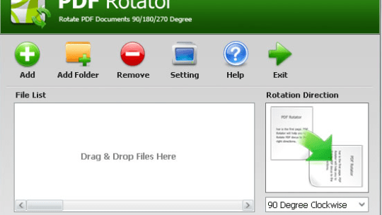 PDF Rotator :Permanently Rotates PDF Pages