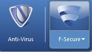 f-secure antivirus interface