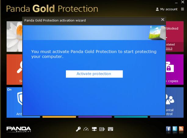 panda gold license