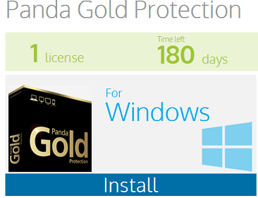 Panda Gold Protection Free for 6 Months