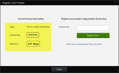 Bitdefender Total Security 2014 license key