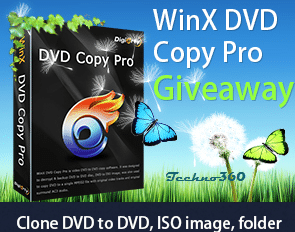 WinX DVD Copy Pro License for Free