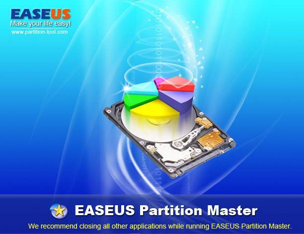EASEUS Partition Master 10