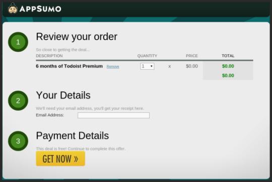 Get Todoist Premium free for 6 Months