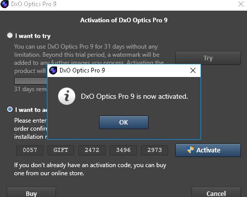 dxo optics pro activation code