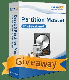 EASEUS Partition Master Pro Free License