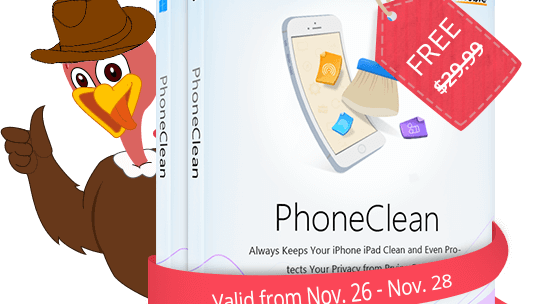 PhoneClean 4 Pro FREE license codes