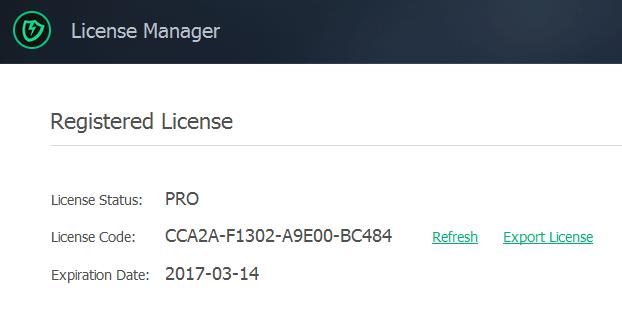iobit malware fighter 4 pro license
