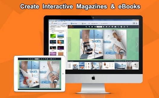 create interactive magazines & ebooks