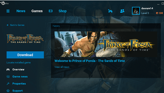 Prince of Persia The Sands of Time giveaway