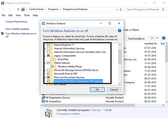 Turn off 10 unwanted features in windows 10