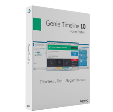 Genie Timeline Home 10 Free License – Backup suite for Windows