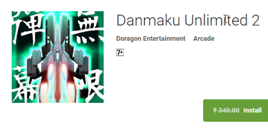 Danmaku Unlimited 2 for Android available Free for only 24 hrs