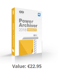 PowerArchiver 2018 Standard Free 1 Year license [Compression/ Archive utility]