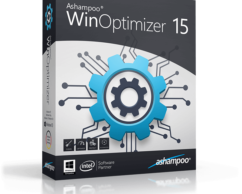 Ashampoo WinOptimizer 15 Free 1 year License [Limited Time Promo]