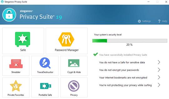 Steganos Privacy Suite 19