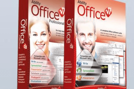 Ability Office Standard v7 Free License [  Microsoft Office Alternative]
