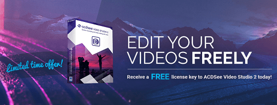 ACDSee Video Studio 2 Free License