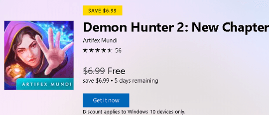 Demon Hunter 2: New Chapter (Full) Free for Windows 10 Devices