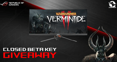 Warhammer: Vermintide 2 Closed Beta Steam Key Giveaway