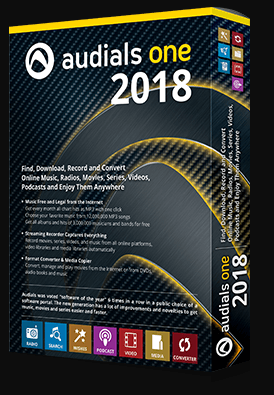 Audials One 2018 Standard Edition for Free [Windows]