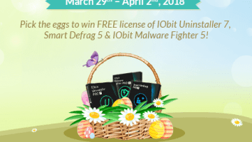 iobit easter giveaway
