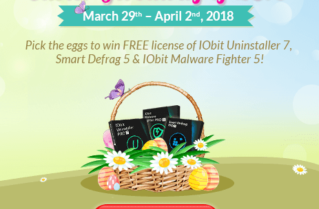 Iobit Easter Giveaway – Win Free 6 Month License of  3 Iobit App's