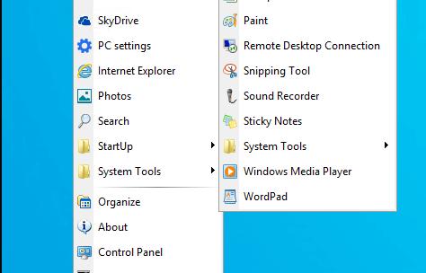 Spencer : Get Classic Windows XP Start Menu on Windows 10
