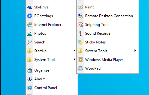 Spencer : Get Classic Windows XP Start Menu on Windows 10