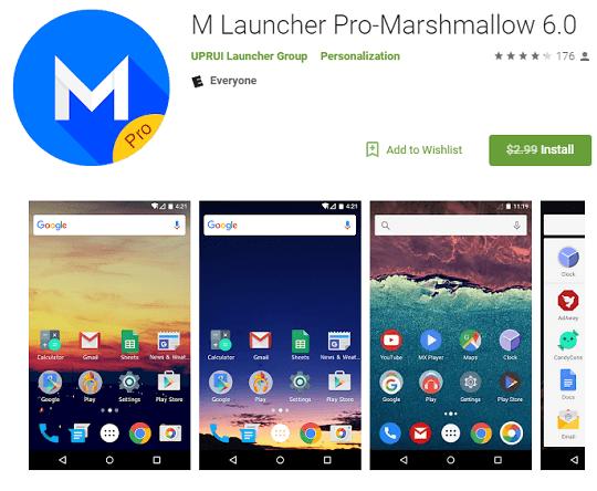 m launcher pro