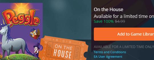Peggle Game Now Free on Origin [PC/MAC]