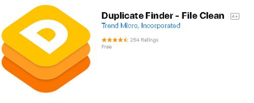 trend micro duplicate finder mac app