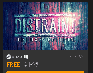DISTRAINT Deluxe Edition Free Steam Key [Windows]