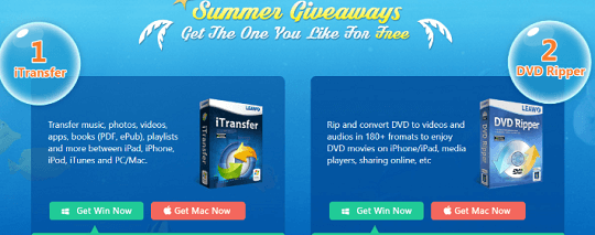 Leawo iTransfer and DVD Ripper Giveaway [Win & Mac]