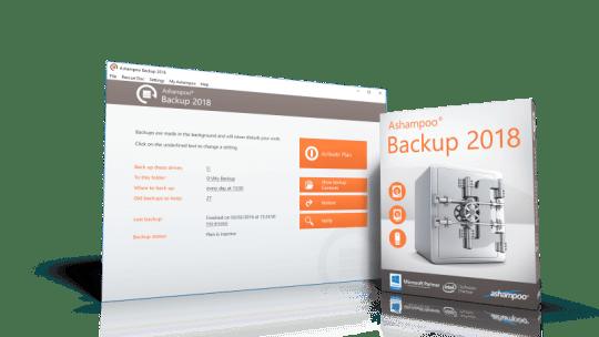 Ashampoo Backup 2018 Free License [Windows]