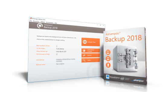 Ashampoo Backup 2018 Free License [Windows]