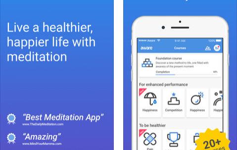 Aware Premium- Meditation App Free Lifetime Access [iOS & Android]