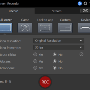 Screen Recorder from CyberLink