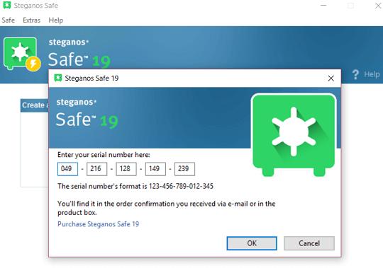Steganos Safe 19 license